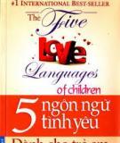 Ngôn ngữ của trẻ phát triển như thế nào?