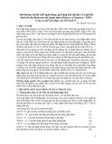 """Báo cáo """" Ảnh hưởng của lãi suất ngân hàng, giá hàng hóa nội địa và tỉ giá hối đoái tới cân bằng cán cân thanh toán trong xu thế hội nhập của nền kinh tế """""""