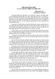 NỀN KINH TẾ TRI THỨC VÀ CÁC CHỈ TIÊU THỐNG KÊ PHẢN ÁNH