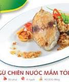 Cá ngừ chiên nước mắm tỏi