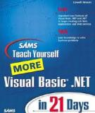 Sams Teach Yourself More Visual Basic .NET
