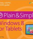 Windows 8 for Tablets Plain & Simple