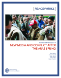 NEW MEDIA AND CONFLICT AFTER    THE ARAB SPRING