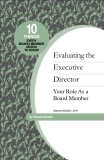 Evaluating the Executive Director Your Role As a Board Member