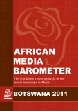 AFRICAN  MEDIA BAROMETER - The first home grown analysis of the  media landscape in Africa