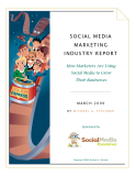 SOCIAL MEDIA  MARKETING  INDUSTRY RE PORT
