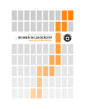 DIRECTOR'S ADVISORY GROUP ON  WOMEN IN LEADERSHIP UNCLASSIFIED REPORT