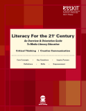 Literacy For the 21  Century st - An Overview & Orientation Guide To Media Literacy Education