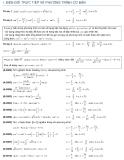 Tham khảo: Bài tập phương trình lượng giác