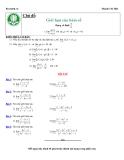 Giới hạn của hàm số - giới hạn vô định dạng hữu tỉ