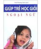 Giúp trẻ học ngoại ngữ tại nhà