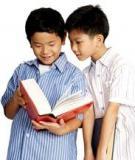 Giúp trẻ mầm non học cách giải quyết vấn đề