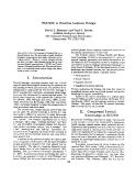 """Báo cáo khoa học: """"A Flexible Lexicon Design"""""""