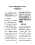 "Báo cáo khoa học: ""Unification-BasedSemantic Interpretation"""