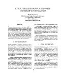 "Báo cáo khoa học: ""STRUCTURAL DISAMBIGUATION WITH CONSTRAINT PROPAGATION"""
