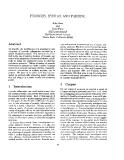 """Báo cáo khoa học: """"PROSODY, SYNTAX AND PARSING"""""""