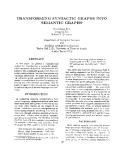 "Báo cáo khoa học: ""TRANSFORMING SYNTACTIC GRAPHS SEMANTIC GRAPHS*"""