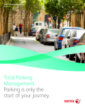 Total Parking Management Parking is only the start of your journey