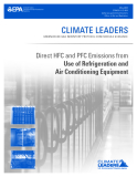 Direct HFC and PFC Emissions from  Use of Refrigeration and  Air Conditioning Equipment