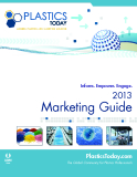 2013 Marketing Guide - The Global Community for Plastics Professionals
