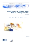 Learning 2.0 - The Impact of Social  Media on Learning in Europe