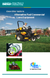 Clean Cities' Guide to Alternative Fuel Commercial Lawn Equipment
