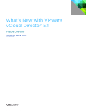 What's New with VMware  vCloud®  Director™  5.1