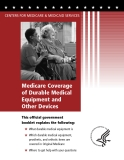 Medicare Coverage  of Durable Medical Equipment and Other Devices