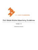 Rich Media Mobile Advertising Guidelines Version 1.0
