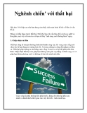 Nghênh chiến' với thất bại