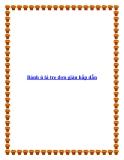 Bánh ú lá tre đơn giản hấp dẫn
