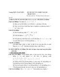 Đề Thi Thử Đại Học Toán 2013 - Đề 41