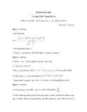 Đề Thi Thử Tuyển Sinh Lớp 10 Toán 2013 - Đề 41