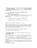 Đề Thi Thử Đại Học Toán 2013 - Đề 3