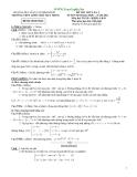 Đề Thi Thử Đại Học Toán 2013 - Đề 4