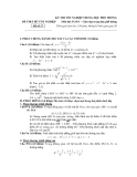 Đề Thi Thử Đại Học Toán 2013 - Đề 8