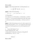 Đề Thi Thử Tuyển Sinh Lớp 10 Toán 2013 - Đề 29