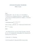 Đề Thi Thử Tuyển Sinh Lớp 10 Toán 2013 - Đề 42