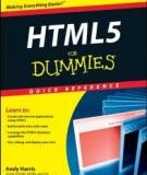 HTML5 For Dummies