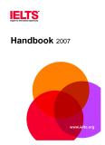 Handbook 2007 IELTS