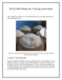 Giá trị dinh dưỡng của 5 loại gạo quen thuộc