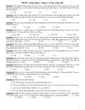 Bài tập Đinhl luật biến thiên năng lượng công- công suất