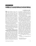 """Báo cáo """" Vấn đề hiệu lực của giao dịch thương mại của Ngân hàng thương mại """""""