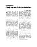 """Báo cáo """" Về việc nhận cha, mẹ, con giữa công dân Việt Nam với người nước ngoài """""""