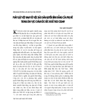 """Báo cáo """" Pháp luật Việt Nam với việc bảo đảm quyền bình đẳng phụ nữ trong lĩnh vực chăm sóc sức khoẻ theo CEDAW """""""