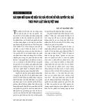 """Báo cáo """" Xác định mối quan hệ giữa tác giả với chủ sở hữu quyền tác giả theo pháp luật dân sự Việt Nam """""""