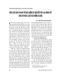 """Báo cáo """" Nội luật hoá CEDAW về bảo hiểm xã hội đối với lao động nữ khi dự thảo Luật bảo hiểm xã hội """""""