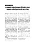 """Báo cáo """" Tội chống người thi hành công vụ và một số tội khác có dấu hiệu chống người thi hành công vụ trong Luật hình sự Việt Nam """""""