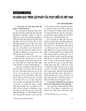 """Báo cáo """" So sánh quy trình lập pháp của Thuỵ Điển và Việt Nam"""""""