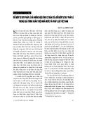 """Báo cáo """"Đổi mới tư duy pháp lí và những hiệu ứng cơ bản của đổi mới tư duy pháp lí trong quá trình hoàn thiện Nhà nước và pháp luật Việt Nam """""""